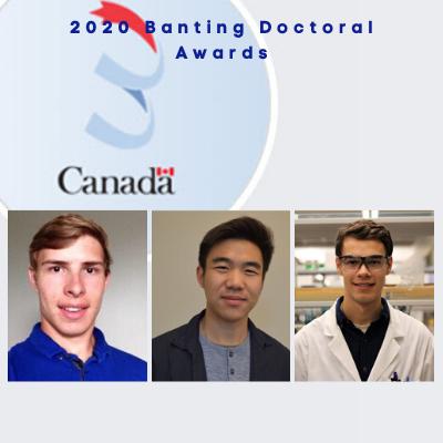 2020 Banting Awardees