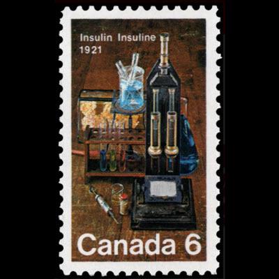 Canada Insulin Stamp